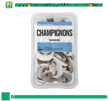 Gesneden champignons aanbieding