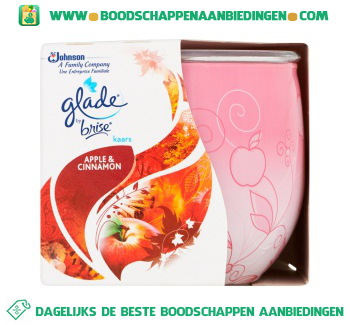 Glade by Brise Kaars pomme & cannelle aanbieding