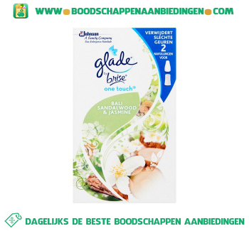 Glade by Brise One touch duo Bali navul aanbieding