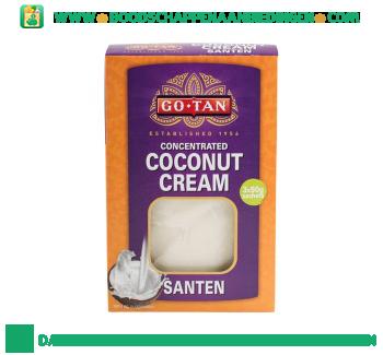 Kokoscrème santen aanbieding