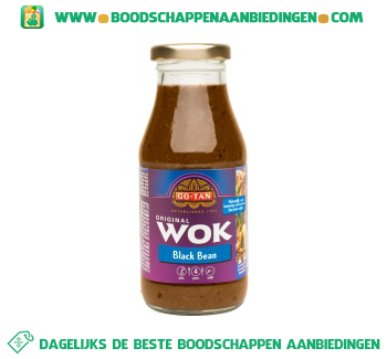 Go-Tan Woksaus black bean aanbieding