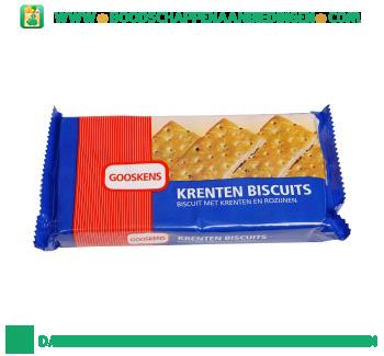 Gooskens Krenten biscuits aanbieding