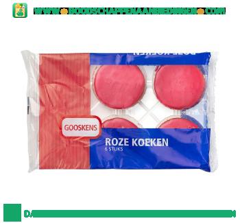 Gooskens Roze koeken aanbieding