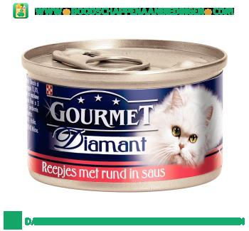 Gourmet Diamant met rund in saus aanbieding