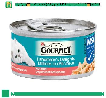 Gourmet Fisherman`s delights zalm aanbieding