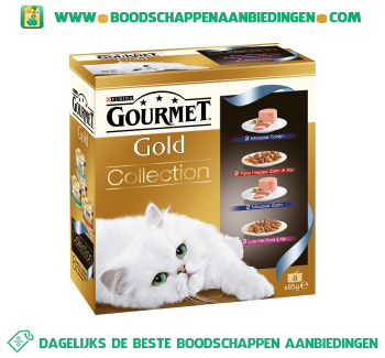 Gourmet Gold collection aanbieding