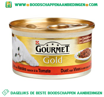 Gourmet Gold duet van vlees & tomaat aanbieding