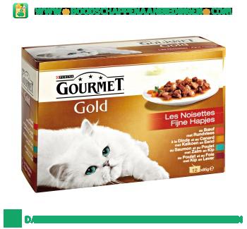 Gourmet Gold fijne hapjes 12-pak aanbieding