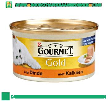 Gourmet Gold fijne mousse met kalkoen aanbieding