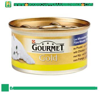 Gourmet Gold fijne mousse met kip aanbieding