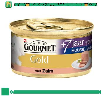Gourmet Gold mousse senior met zalm aanbieding