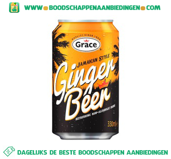 Ginger beer jamaican aanbieding