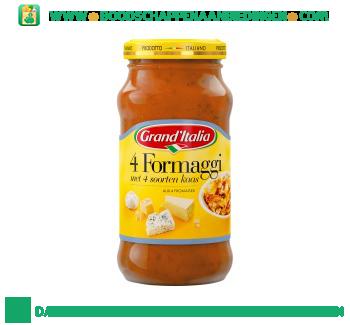 Grand'Italia Pastasaus 4 formaggi aanbieding