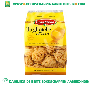 Grand'Italia Tagliatelle all'uovo aanbieding