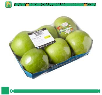 Granny smith appels op schaal aanbieding
