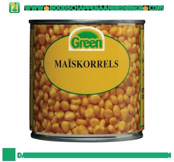 Green Maïskorrels aanbieding