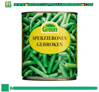 Green Sperziebonen gebroken aanbieding