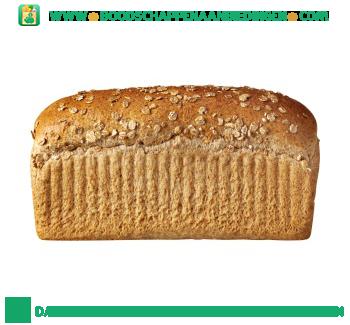 Grof volkoren brood aanbieding