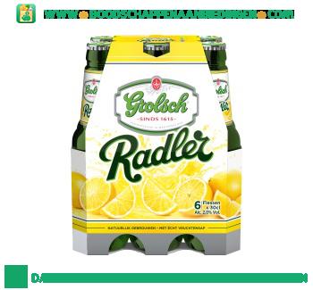 Grolsch Radler lemon pak 6 flesjes aanbieding
