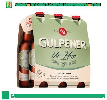 Gulpener Biologisch Ur-Hop pak 6 flesjes aanbieding