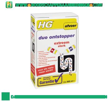 HG Duo ontstopper aanbieding