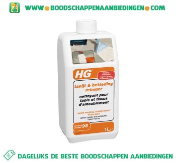 HG Tapijt & bekleding reiniger aanbieding