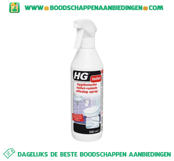 HG Toiletreiniger aanbieding