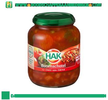 Hak Bonenschotel chili con carne aanbieding