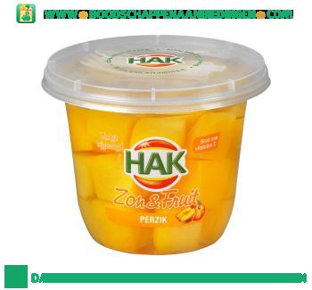 Hak Zon & fruit perzik aanbieding