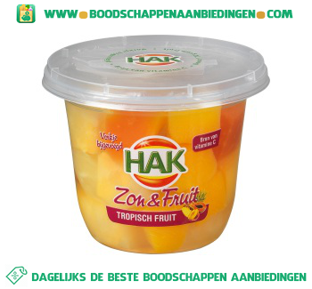 Hak Zon & fruit tropisch fruit aanbieding