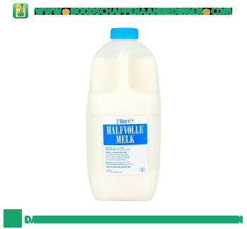Halfvolle melk aanbieding