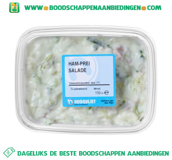 Ham-prei salade aanbieding