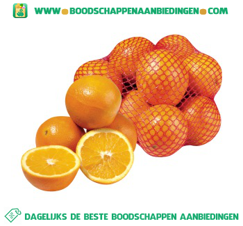 Handsinaasappels aanbieding