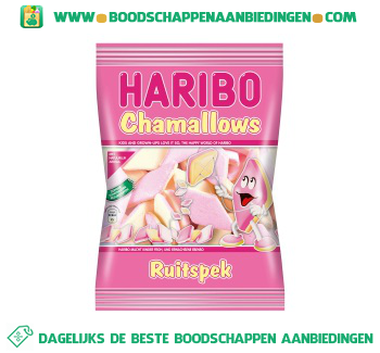 Haribo Chamallows ruitspek aanbieding