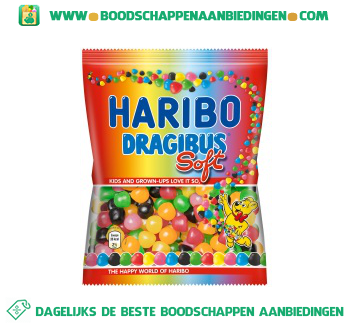 Haribo Dragibus soft aanbieding