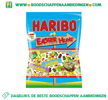 Haribo Easter hunt aanbieding