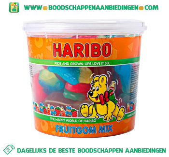 Haribo Fruitgom mix aanbieding