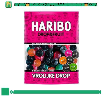 Vrolijke drop drop & fruit aanbieding