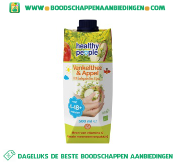 Healthy People Baby juice venkelthee & appel aanbieding