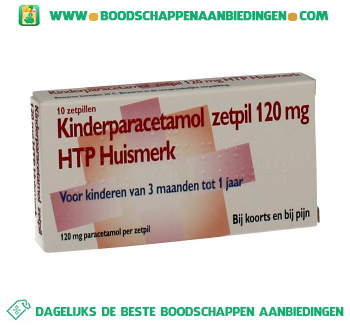 Healthypharm Paracetamol zetpil aanbieding