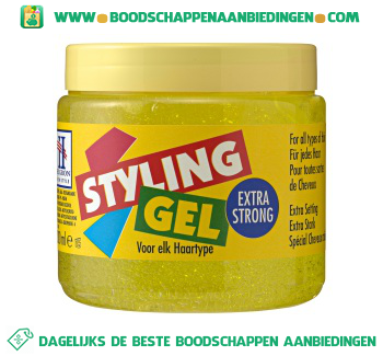 Hegron Styling gel extra strong aanbieding