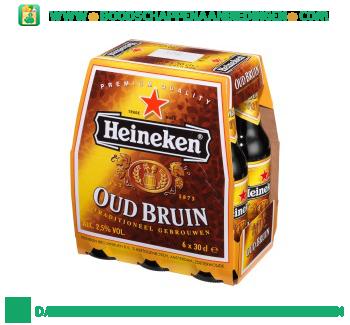 Heineken Oud bruin pak 6 flesjes aanbieding