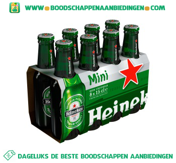Heineken Small pak 8 flesjes aanbieding
