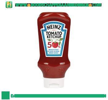 Heinz Ketchup 50% minder suiker aanbieding