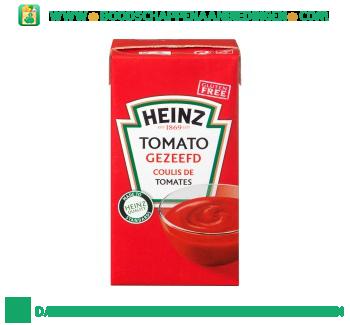 Tomato gezeefd aanbieding