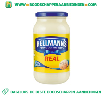 Hellmann's Mayonaise real aanbieding