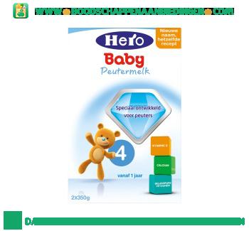 Hero Baby Peuter groeimelk 4 aanbieding