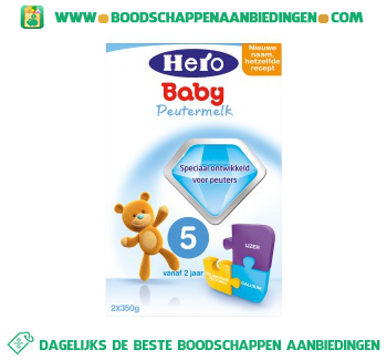 Hero Baby Peuter groeimelk aanbieding