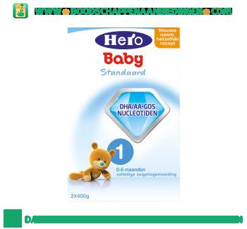Hero Baby Standaard 1 volledige zuigelingenvoeding aanbieding