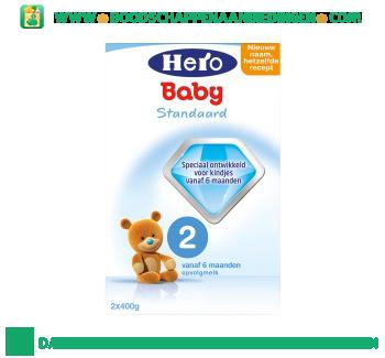 Hero Baby Standaard 2 opvolgmelk aanbieding